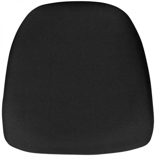 Flash Furniture Hard Black Fabric Chiavari Chair Cushion