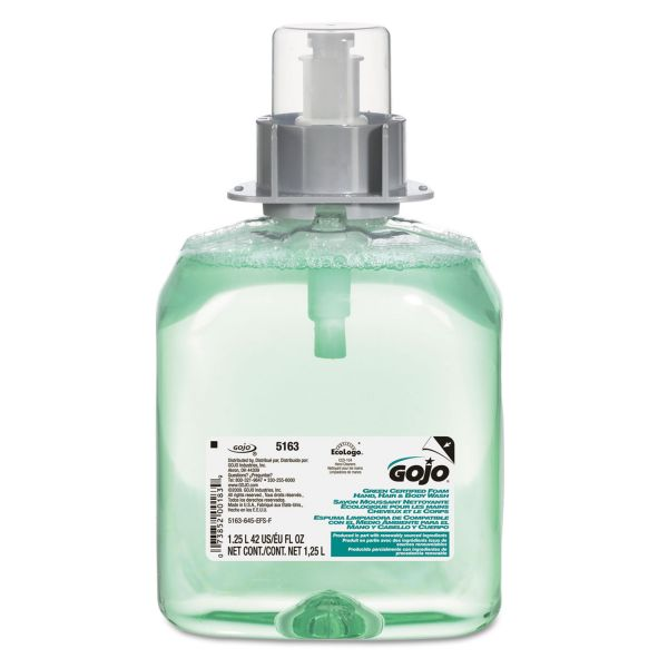 GOJO FMX-12 Luxury Foam Hair & Body Wash Refills