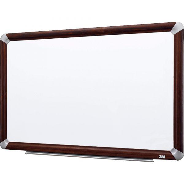 "3M 48"" x 36"" Elegant Style Melamine Dry Erase Whiteboard"