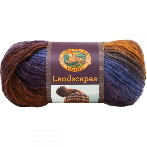 Lion Brand Landscapes Yarn - Mountain Range