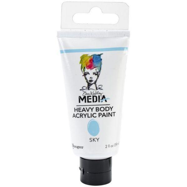 Dina Wakley Media Heavy Body Sky Acrylic Paint