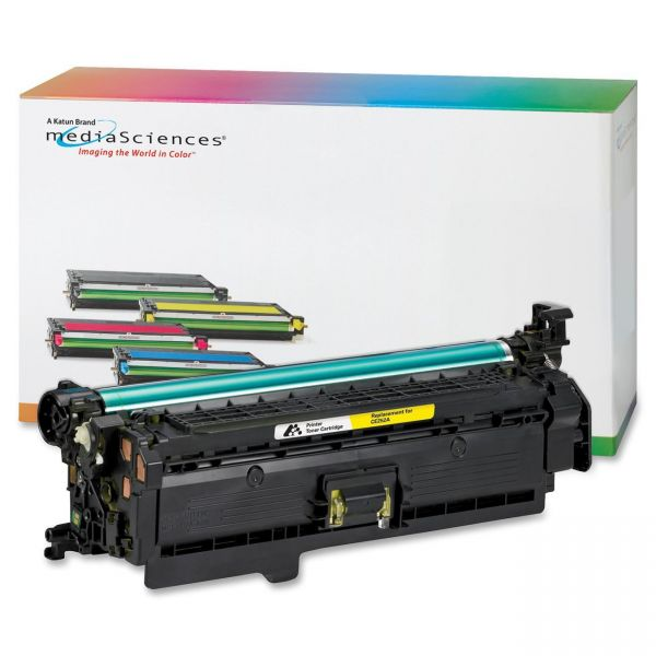 Media Sciences Remanufactured 504A Yellow Toner Cartridge