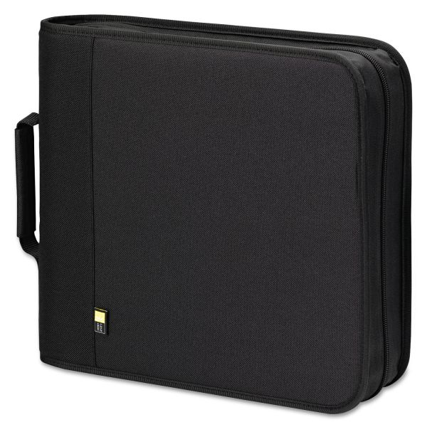 Case Logic CD/DVD Expandable Binder, Holds 208 Discs, Black