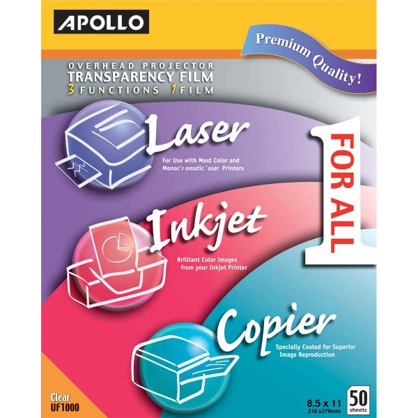 Apollo 1 For All Transparency Film