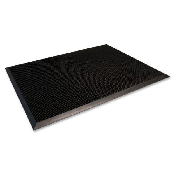 Genuine Joe Outdoor Double Door Brush Tip Scraper Floor Mat