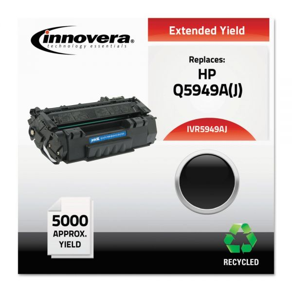 Innovera Remanufactured HP 49A (Q5949A) Extended-Yield Toner Cartridge