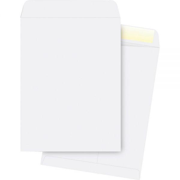 "Business Source 9 1/2"" x 12 1/2"" Catalog Envelopes"
