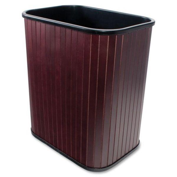 Carver Wood Rectangular Waste Basket