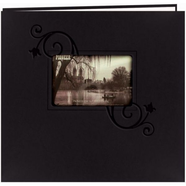 "Embossed Leatherette Post Bound Album 12""X12"""