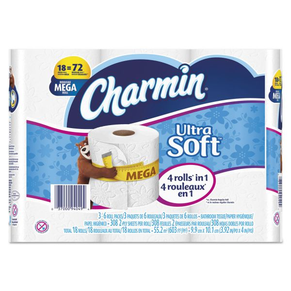 Charmin Ultra Soft 2 Ply Toilet Paper