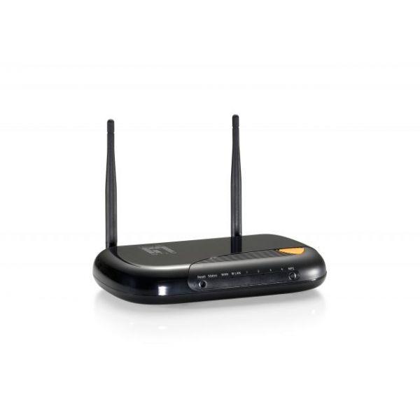 LevelOne WGR-6013 Gigabit Wireless N 300Mbps Broadband Router w/5dBi Antenna