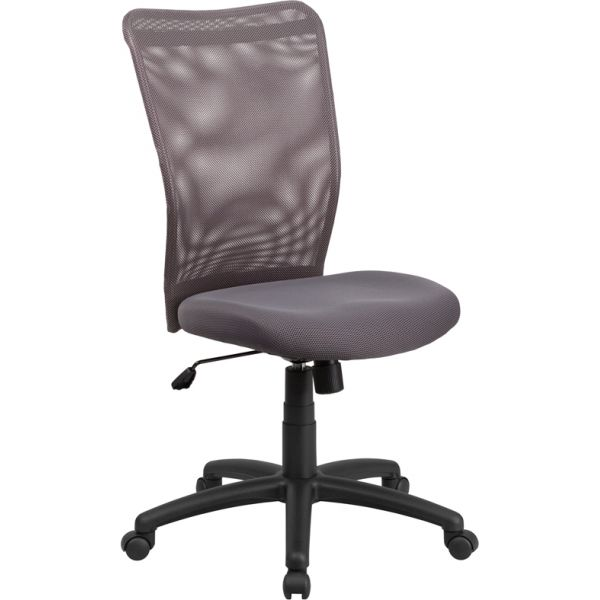 Flash Furniture High Back Ergonomic Swivel Office Chair [CY54A-GY-GG]
