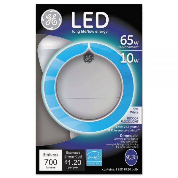 GE LED 10 Watt R30 Floodlight