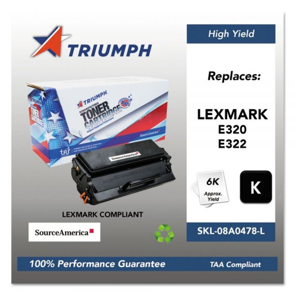 Triumph Remanufactured Lexmark E320/E322 Toner Cartridge