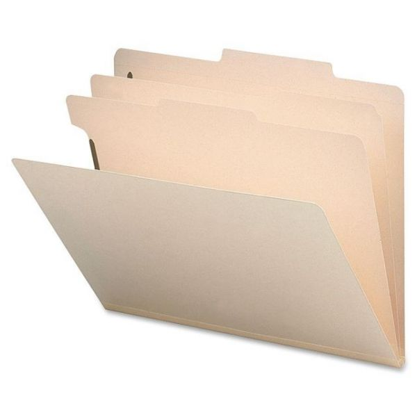 Sparco Manila 2-Divider Classification Folders