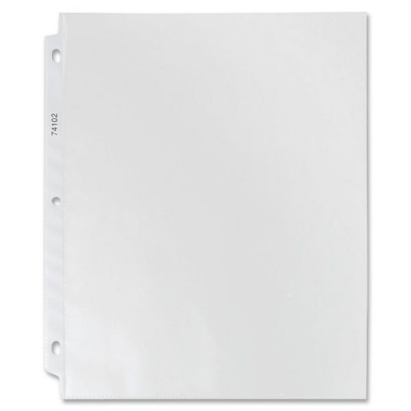 Sparco Top Loading Non-Glare Sheet Protectors