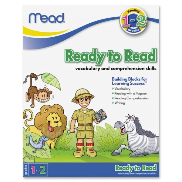 Mead Ready to Read Workbook Grades 1-2 Education Printed Book