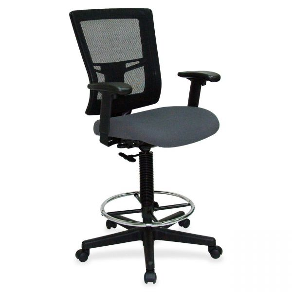 Lorell Breathable Mesh Drafting Stool