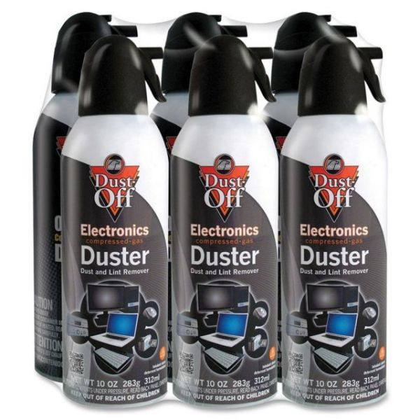 Dust-Off Canned Air Compressed Gas Electronics Duster