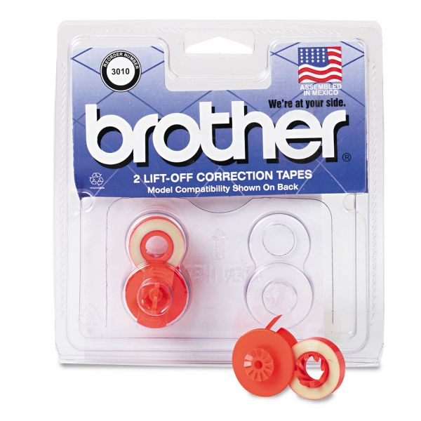 Brother 3010 Two Spool Lift-off Correction Tape