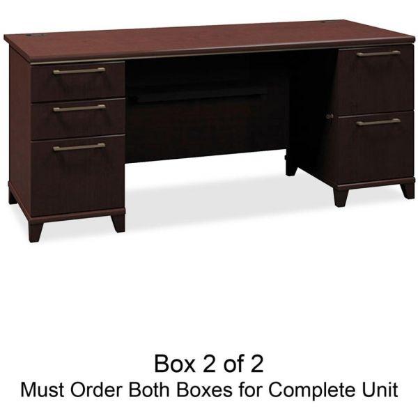 bbf Enterprise Pedestal Computer Desk by Bush Furniture *Box 2 of 2