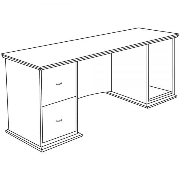 Lorell Contemporary 9000 Office Desk