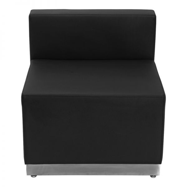 Flash Furniture Alon Series Black Leather Chair
