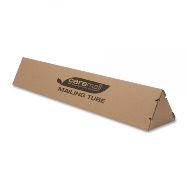 Caremail Triangular Mailing Tubes