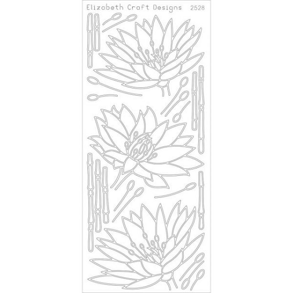 Waterlilies Peel-Off Stickers