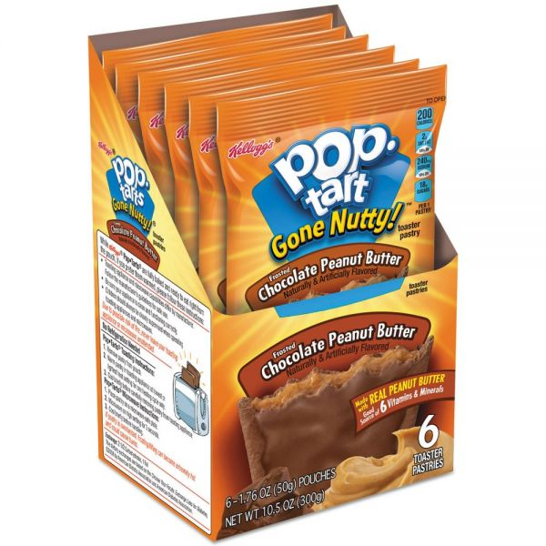Kellogg's Gone Nutty! Pop Tarts