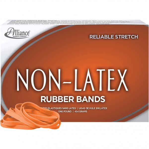 Alliance #64 Latex-Free Collored Rubber Bands (1 lb)