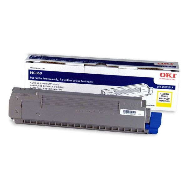Oki 44059213 Yellow Toner Cartridge