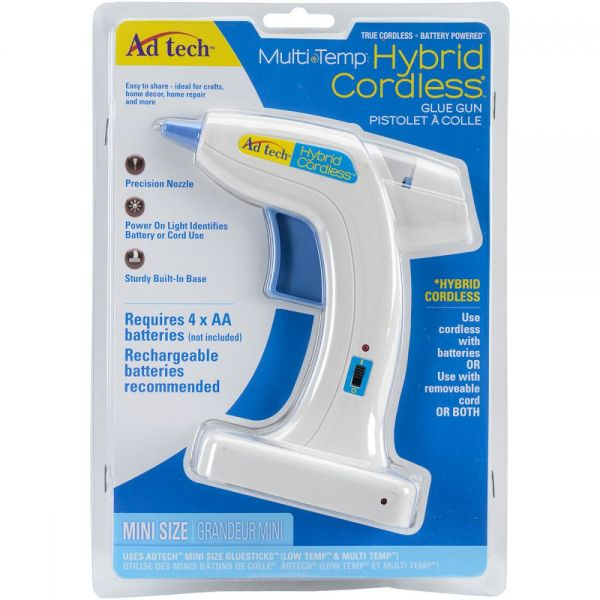 Multi-Temp Hybrid Cordless Glue Gun