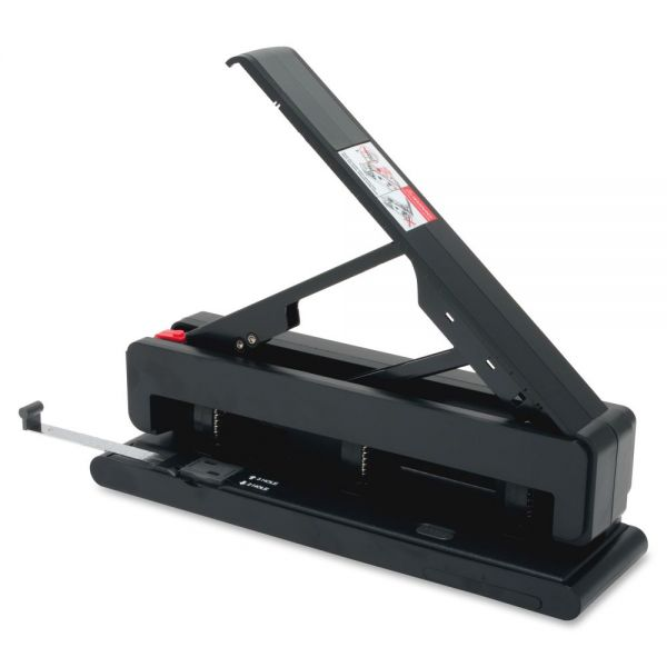Business Source Effortless Two/Three-Hole Punch
