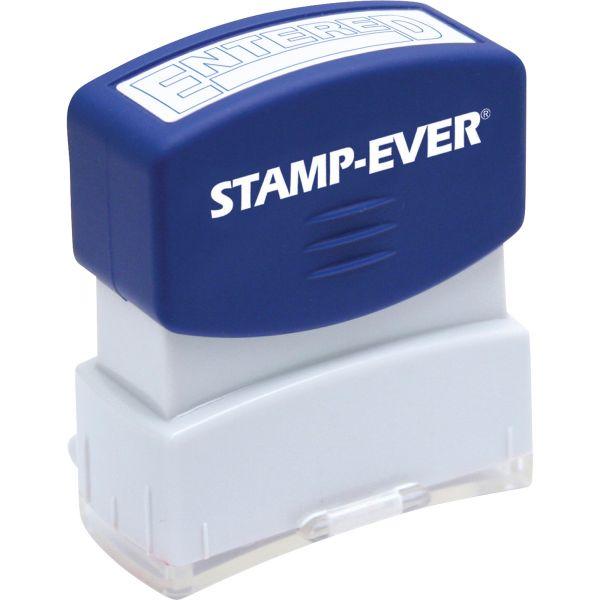 Stamp-Ever Pre-inked Entered Stamp