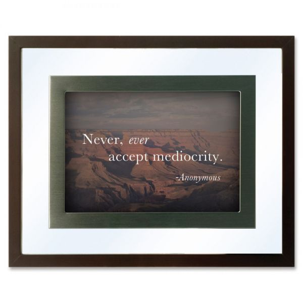 DAX Nature Collection Motivational Frame, One Frame/Four Prints, 10 3/4 x 8 3/4