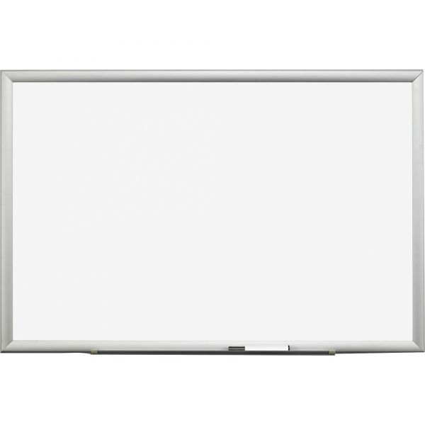 "3M 48"" x 36"" Magnetic Porcelain Dry Erase Whiteboard"