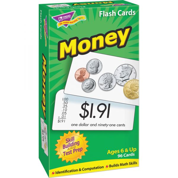 Trend Money Flash Cards