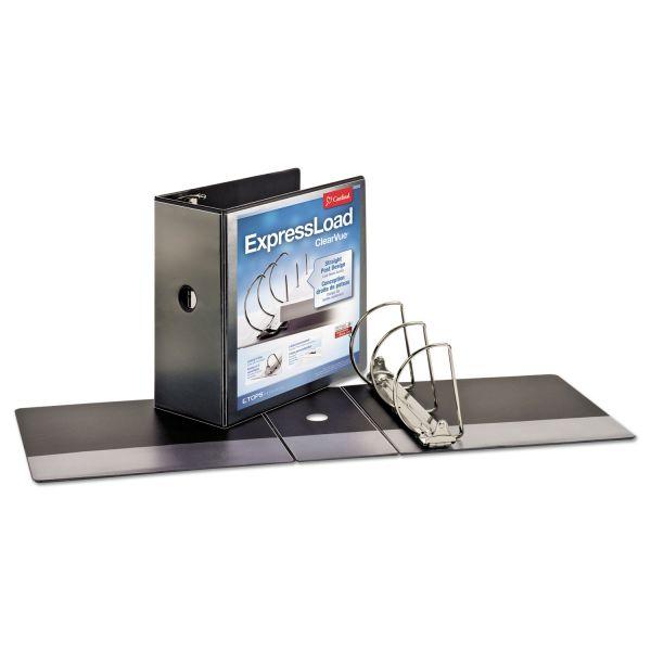 """Cardinal ExpressLoad 5"""" 3-Ring View Binder"""