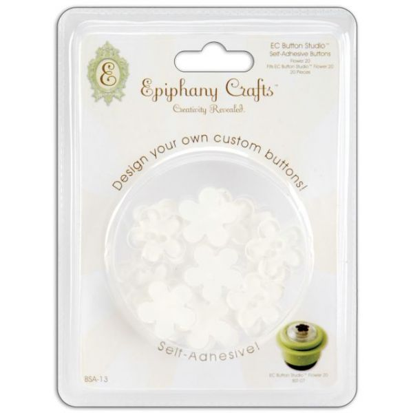 Epiphany Crafts Self-Adhesive Buttons