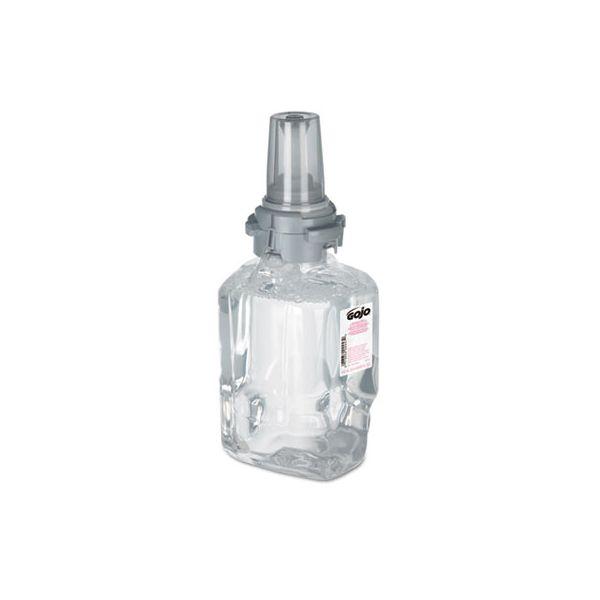 GOJO Clear & Mild Foam Handwash Refill, Fragrance-Free, 700 mL, Clear, 4/Carton