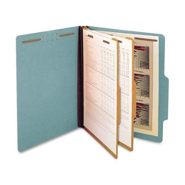 SJ Paper Blue Pressboard Classification Folders