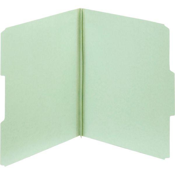 Globe-Weis Light Green Pressboard Folder