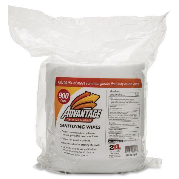 2XL Antibacterial Gym Wipes