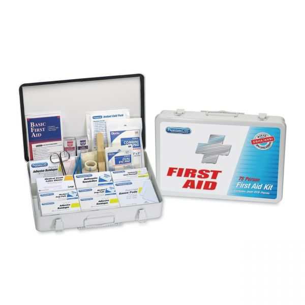 PhysiciansCare First Aid Kit for up to 50 People, 1Kit