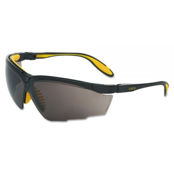 Uvex by Honeywell Genesis X2 Eyewear, Dark Gray