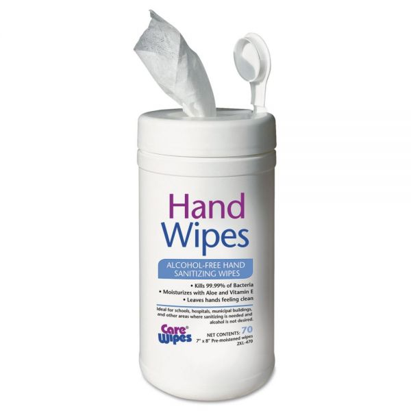 2XL Alcohol Free Hand Sanitizing Wipes