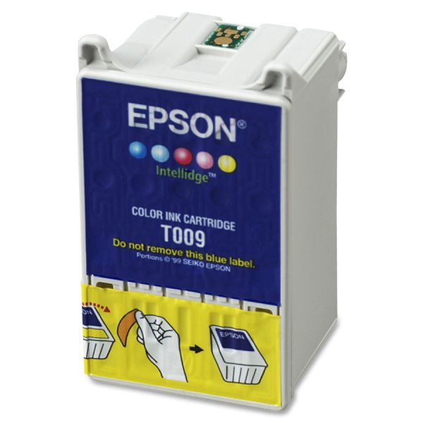 Epson T009201 (09) Ink, Assorted, 5/PK