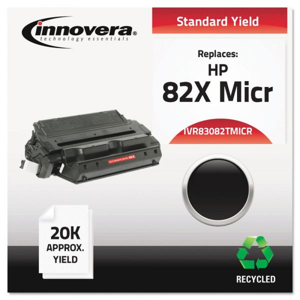 Innovera Remanufactured HP 82X Micr Black Toner Cartridge