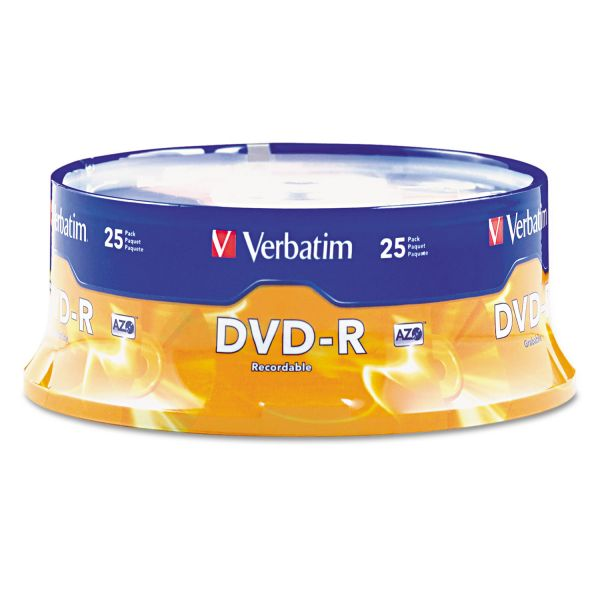 Verbatim Recordable DVD Media